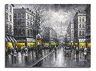 Wieco Art Paris Street Modern Giclee…