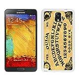 Unique Samsung Galaxy Note 3 Case Retro Ouija Board Luxury Design White Cell Phone Cover Protector