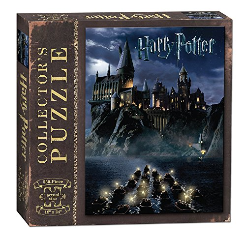 USAopoly PZ010-430 World of Harry Potter Puzzle, 550 Piece