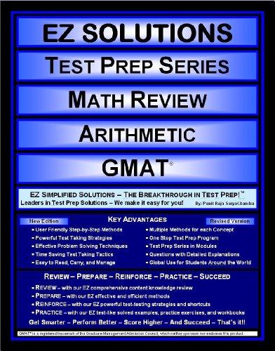 Math Review Arithmetic: Gmat (Ez Solutions: Test Prep Series)