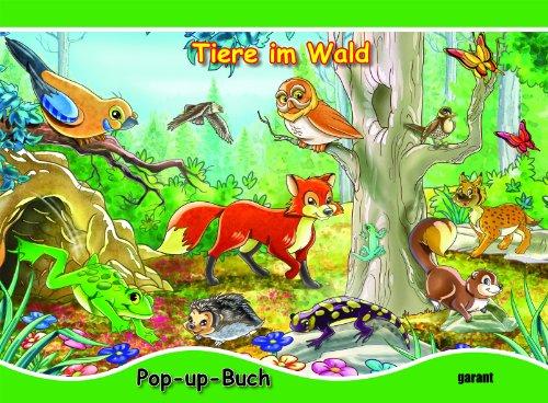 Tiere im wald pop up buch picture