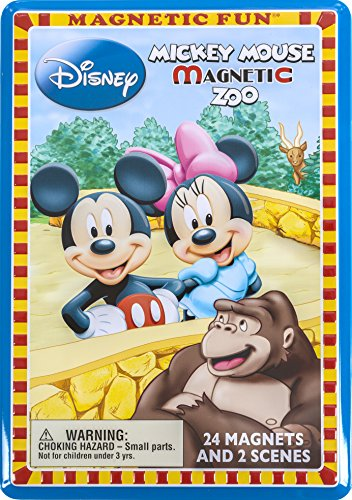 Magnetic Fun - Mickey Mouse Magnetic Zoo - 1