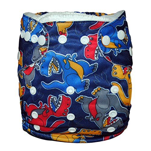 Besto Baby Reusable Washable Aio Cloth Diapers Fit 6-33Lbs With 1 Free Microfiber Insert 1N41 back-787931