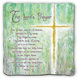 Cathedral Art SQP103 Bless This Child with Saying Standing Cross 3-Inch High