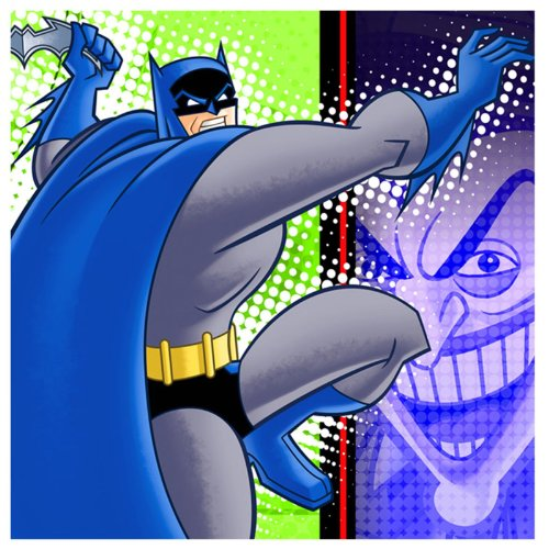 Hallmark Cards, Inc.-Batman: The Brave and The Bold Napkins (Lunch)
