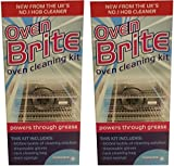 2 x Oven Brite Oven Hob Rack Stainless Steel Enamel BBQ Cleaning Kit