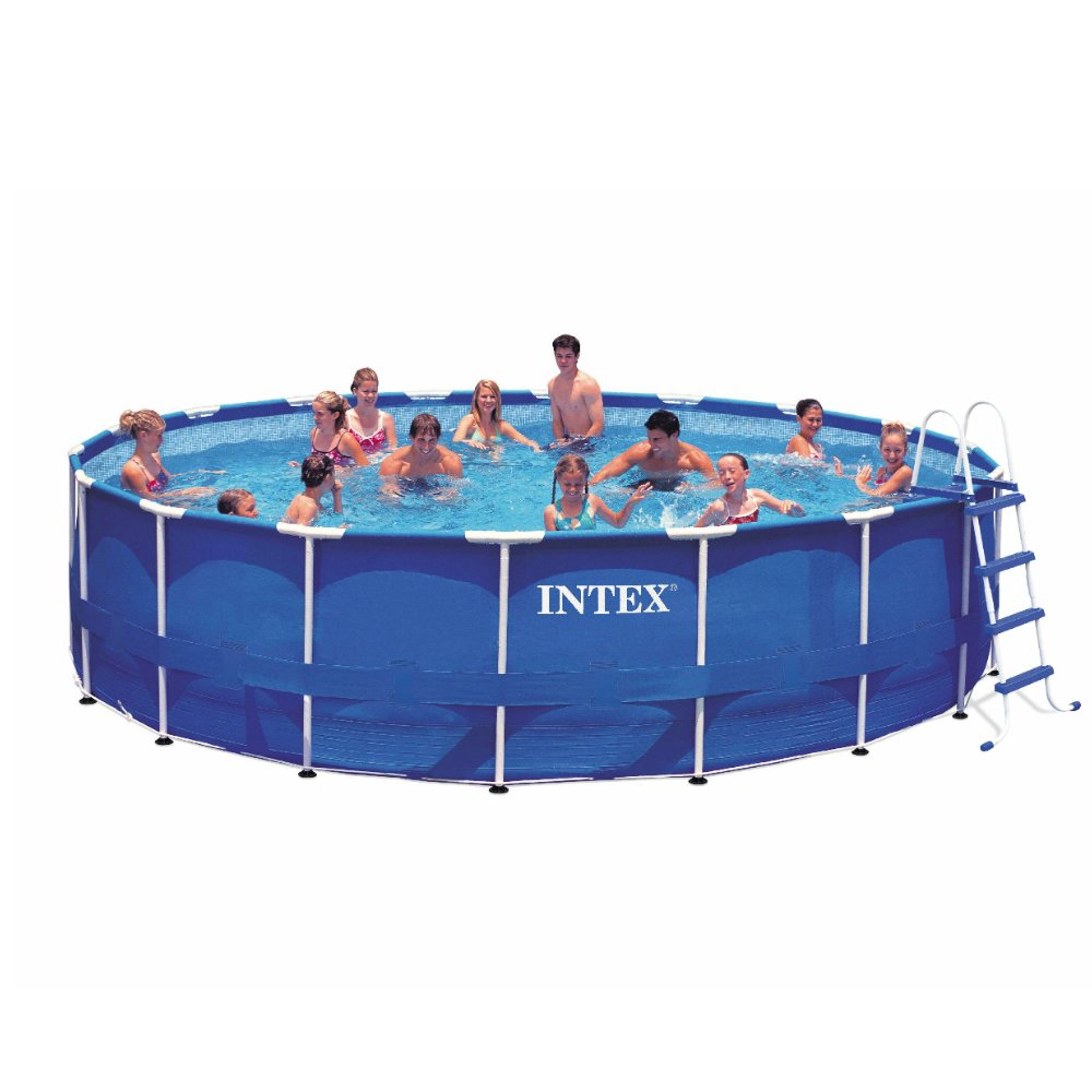 Intex 24ft X 52in Metal Frame Pool Set