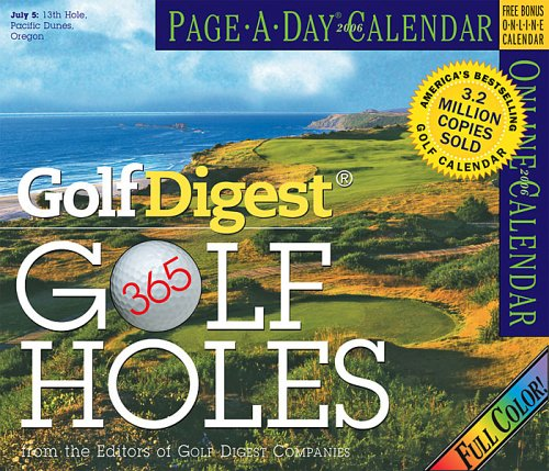 Golf Digest 365 Golf Holes Calendar 2006