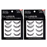 Ardell False Lashes Faux Mink 817 Multipack, 2 pk x 4 pairs (Color: Faux Mink 817, Tamaño: 8 pairs)