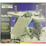 Penn Plax Decorative Turtle Pier Floating/Basking Platform