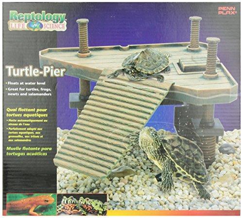 Penn Plax Decorative Turtle Pier Floating/Basking Platform (Water Turtle Habitat compare prices)