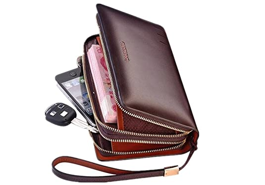 Leather Organizer For Men Men's Real Leather Business