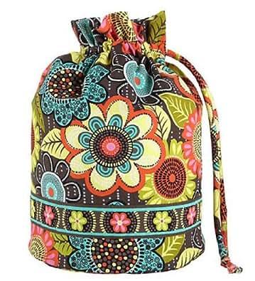 Gorgeous vera bradley ditty bag in flower shower handbags for Vera bradley bathroom bag