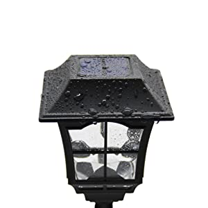 Maggift solar wall lantern outdoor wall sconce solar outdoor led maggift solar wall lantern outdoor wall sconce solar outdoor led light fixture with wall mount kit aloadofball Gallery