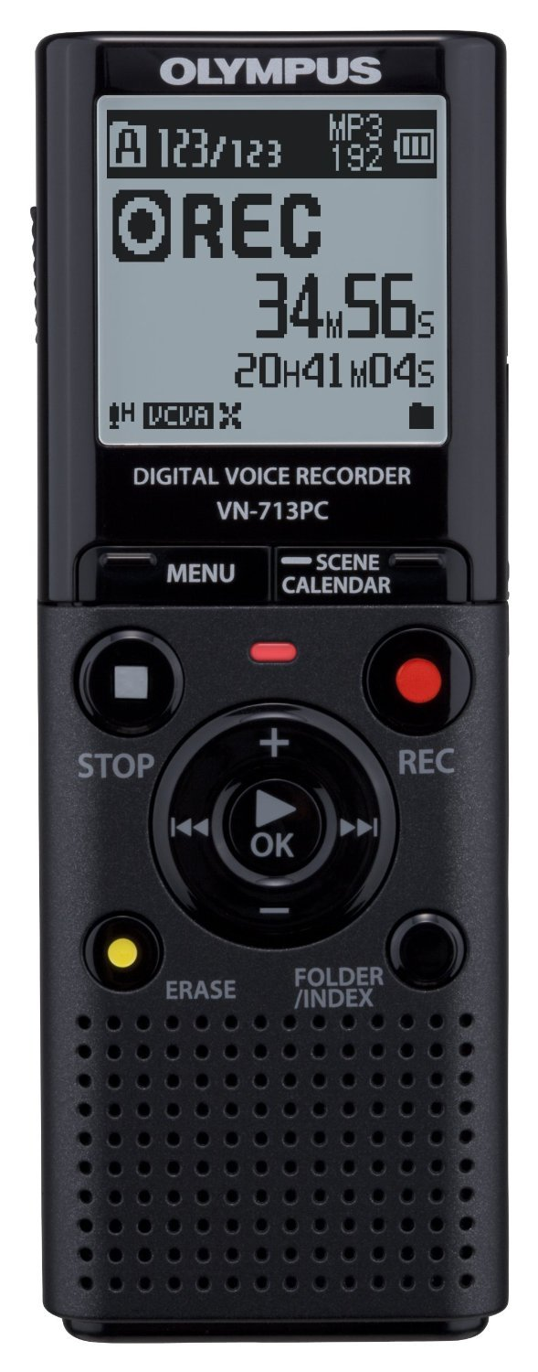 Dictaphone et Magn�tophone OLYMPUS VN713PC NOIR 4GO