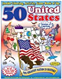 50 United States - The Greatest Nation in History Coloring, Activity & Game Book