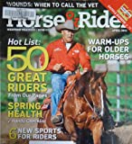 img - for Horse & Rider Western Training / How-to / Advice April 2011 (Cover) Bob Avila on Quarter Horse Gelding Brother White book / textbook / text book