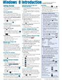 Windows 8 Quick Reference Guide (Cheat Sheet of Instructions, Tips & Shortcuts - Laminated)