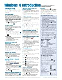 Windows 8 Quick Reference Guide (Cheat Sheet of Instructions, Tips & Shortcuts - Laminated Guide)