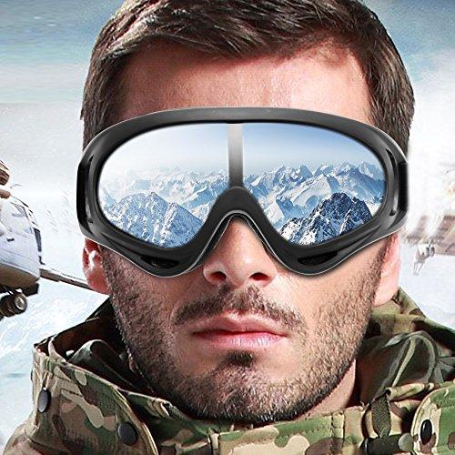black snowboard goggles  snowboard ski goggles