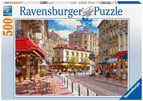 Ravensburger Quaint Shops - 500 Piece Puzzle