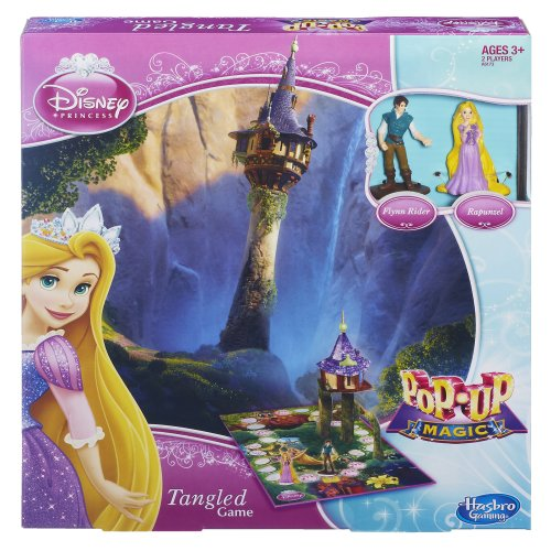 Disney Princess Pop-Up Magic Tangled Game - 1