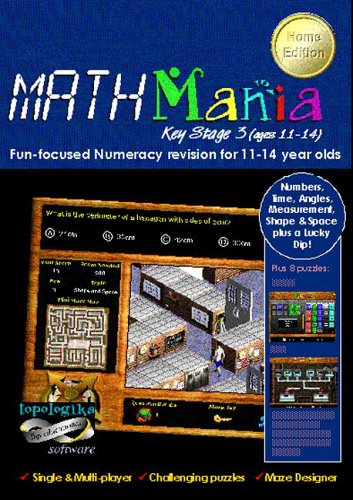 MathMania: Key Stage 3 [ages 11-14] HOME EDITION