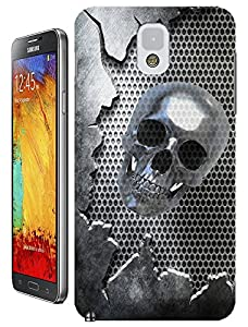 Skull cases Special Design Fashion For Samsung Galaxy Note 3 Gold Skull