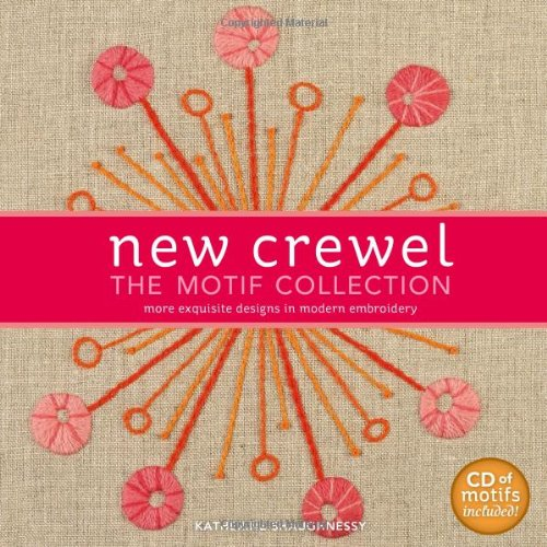 New crewel the motif collection more exquisite designs in