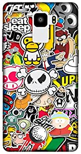 The Racoon Lean printed designer hard back mobile phone case cover for Huawei Honor 7. (Sticker Bo)