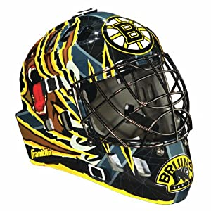 Franklin Sports NHL Boston Bruins SX Comp GFM 100 Goalie Face Mask