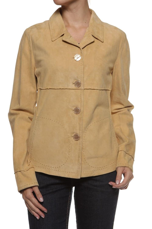 Cristiano di Thiene Damen Jacke Lederjacke DAFINA, Farbe: Cognac bestellen