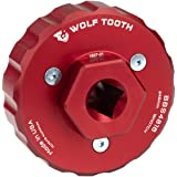 Wolf Tooth Components Bottom Bracket Tool Red, 16 Notch 48MM (Color: Red, Tamaño: 16 Notch 48MM)