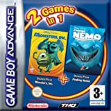 Finding Nemo & Monster Inc Double Pack (GBA)