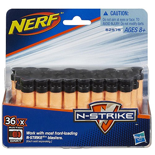 Nerf N-Strike Suction Darts, 36-Pack