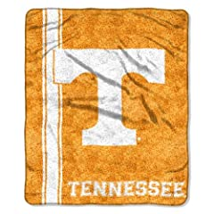Buy NCAA Tennessee Volunteers 50-Inch-by-60-Inch Sherpa on Sherpa Throw Blanket Jersey Design by Northwest
