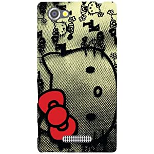 Printland Teddy Love Back Cover For Sony Xperia M