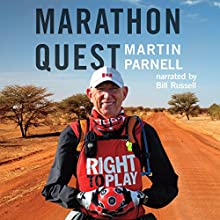 Marathon Quest Audiobook by Martin Parnell Narrated by Bill Russell