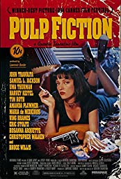 POP Home Store Pulp Fiction94 Gun SmokingPoster Wall 20X30 Inch