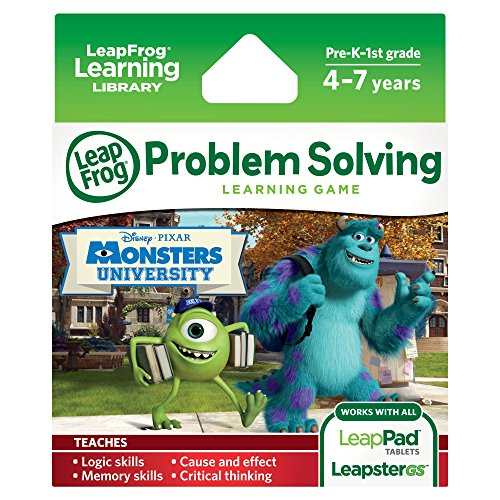 LeapFrog-Disney-Pixar-Monsters-University-Learning-Game-works-with-LeapPad-Tablets-LeapsterGS-and-Leapster-Explorer