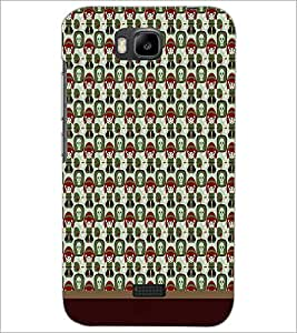 HUAWEI HONOR BEE PATTERN Designer Back Cover Case By PRINTSWAG