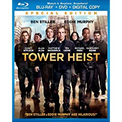 Tower Heist (2 Disc Blu-ray Combo + DVD + Digital Copy)