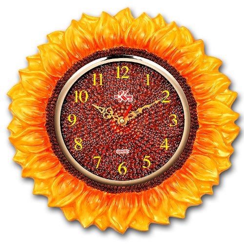 Sunflower Clocks Buy Sunflower Decor Online