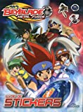 echange, troc Dragon d'or - Livre de stickers Beyblade Metal Fusion