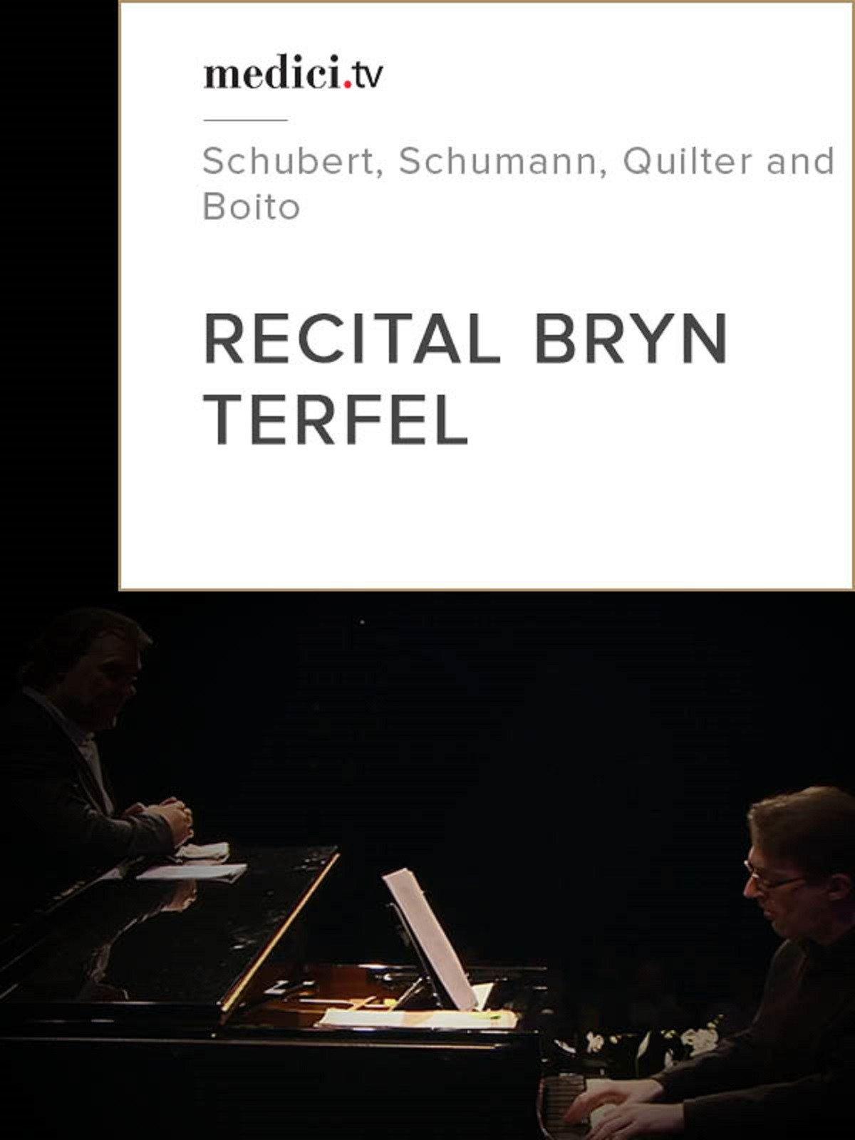 Bryn Terfel recital