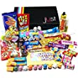 The Best Ever Retro Sweets COSMIC Treasure Box - The Original Sweet Shop in a Box! - Great gift idea for him or her, women and men, boys and girls, mum or dad. The Perfect Mothers Day, Easter Gift