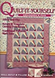 img - for Simplicity Quilt-it-Yourself Grandma's Fan #0274 (Quilt-It-Yourself) book / textbook / text book
