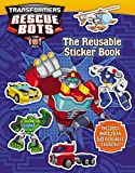 img - for Transformers Rescue Bots: Reusable Sticker Book book / textbook / text book