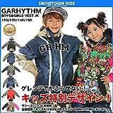GARHYTHM VEST JK ベストジャケット 15-16 2016 男女兼用 キッズ スノーウェア 120 MULTI-BLACK-VEST