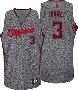 NBA adidas Chris Paul Los Angeles Clippers Swingman Jersey - Gray by adidas